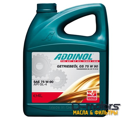 ADDINOL GS 75W-90 GL-4 (4л)