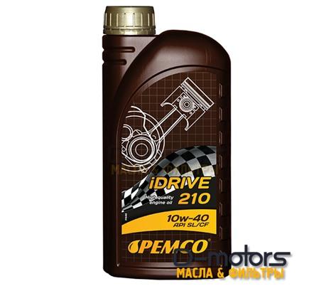Моторное мало Pemco Idrive 210 10w-40 (1л.)