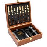Подарочный набор с шахматами в чемодане Helios GT-TZ200