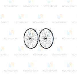 Колесо Shimano MT15А переднее и заднее 26'' C.Lock QR черный EWHMT15AFR6BE, интернет-магазин Sportcoast.ru