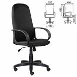 Кресло руководителя Brabix Praktik EX-279 ткань, черное 532019